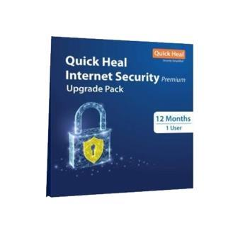 Renew Quick Heal Internet Security 1 User - 1 Year