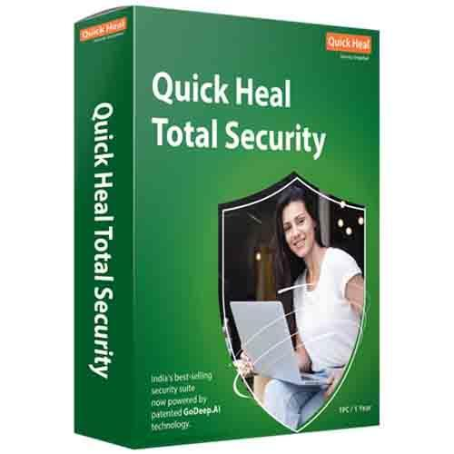 Quick Heal Total Security 1 User - 3 Years