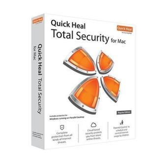 Quick Heal Total Security for Mac 1 User - 1 Year