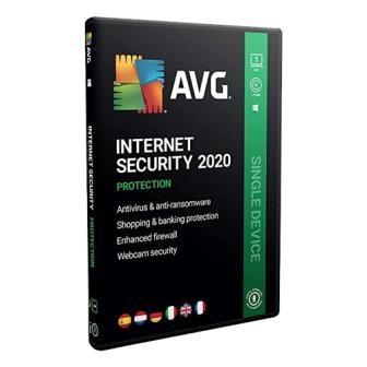 AVG Internet Security 1 User - 1 Year