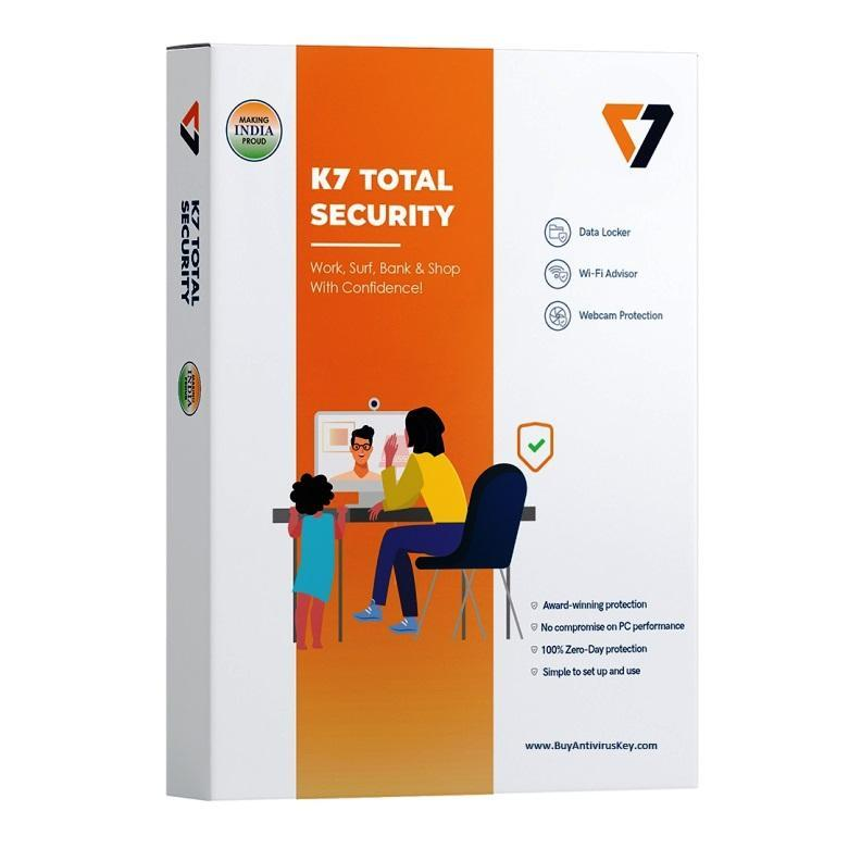 Renew K7 Total Security 1 User - 1 Year