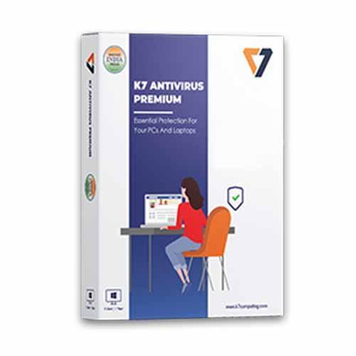 Renew K7 Antivirus Premium 1 User - 1 Year
