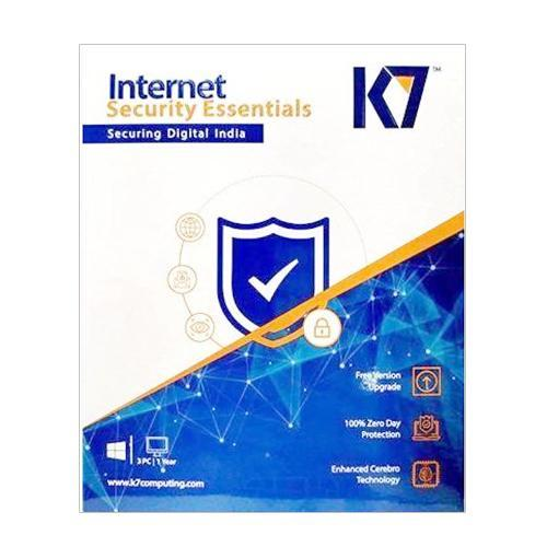 K7 Internet Security 1 User 1 Year