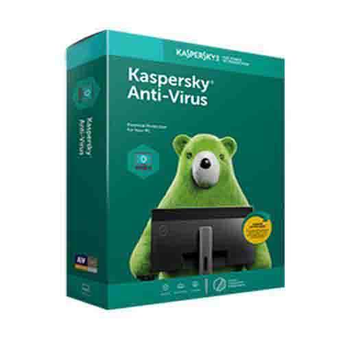 Renew Kaspersky Antivirus 1 User - 1 Year