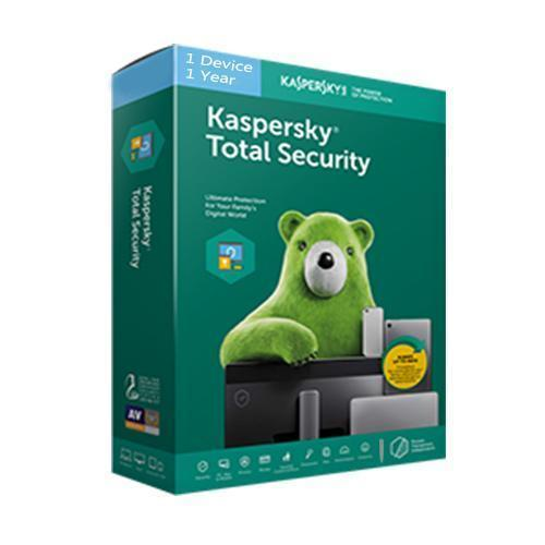 Kaspersky Total Security 1 User - 1 Year