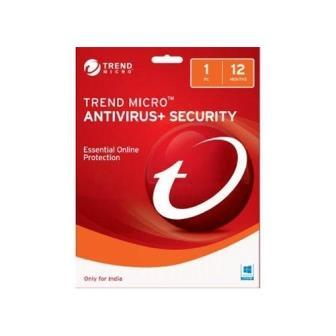 Trend Micro Antivirus Security 1 User 1 Year