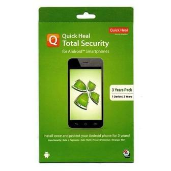 3 Years Quick Heal Total Security for Android mobile