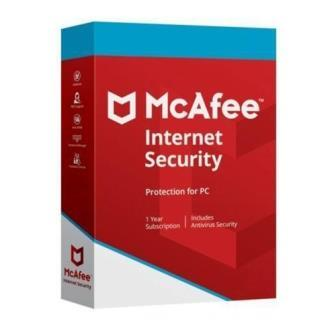 McAfee Internet Security 1 User - 1 Year