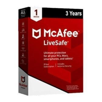 Renew McAfee Antivirus 1 User - 1 Year