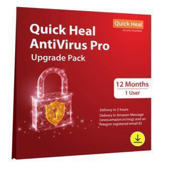 Renew Quick Heal Antivirus Pro 1 User - 1 Year