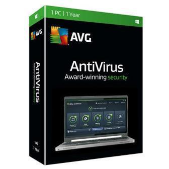 AVG Antivirus 1 User - 1 Year
