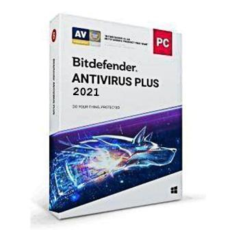 Bitdefender Antivirus Plus 1 User - 1 Year