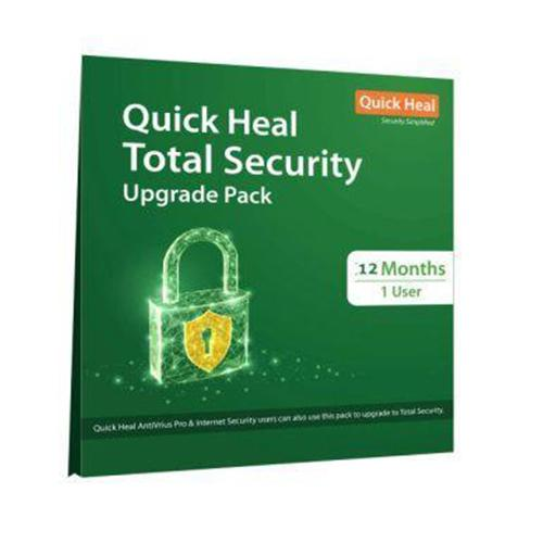 Renew Quick Heal Total Security 1 User - 1 Year