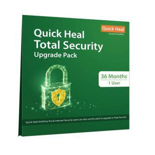 Quick Heal Total Security 1 User - 3 Years Renewal