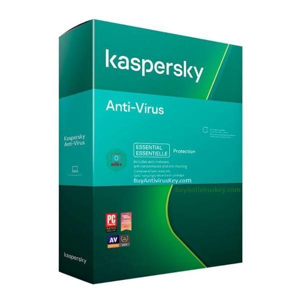 Renew Kaspersky Antivirus 1 User - 1 Year