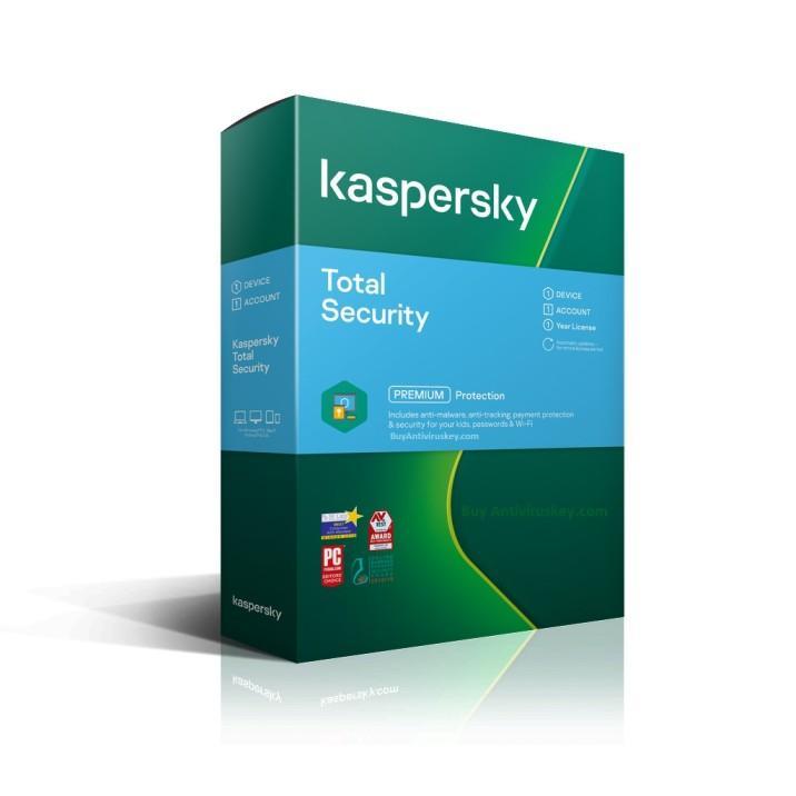Kaspersky Total Security 1 User - 1 Year
