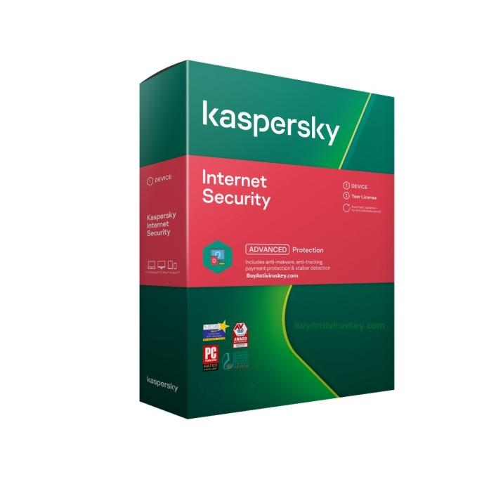 Renew Kaspersky Internet Security 1 User - 1 Year