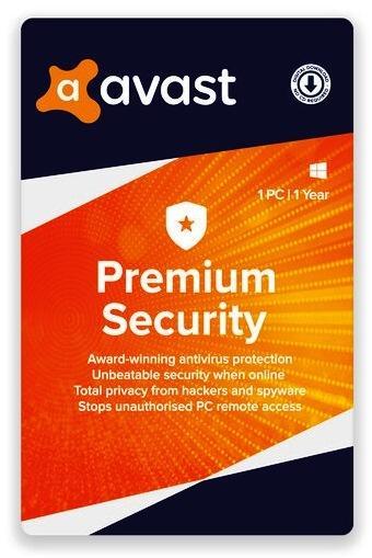 Avast Premium 1 User - 1 Year