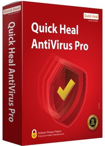 Quick Heal Antivirus Pro 1 User - 3 Years