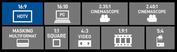 16:9 HDTV Format
