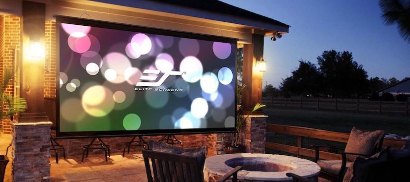 Electric Outdoor Projector Screens