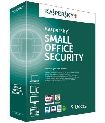 Kaspersky Small Office Security for 5 Users + 5 Mobile + 1 Server