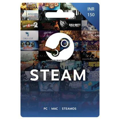 Steam Wallet INR 150
