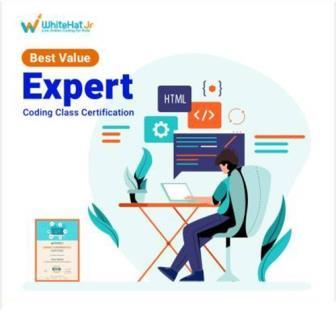 WhiteHat Jr 2 Classes Expert Coding Course