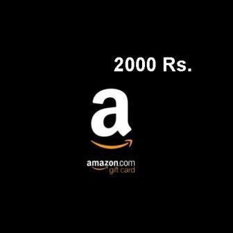 Amazon Gift Card 2000