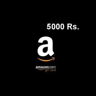 Amazon Gift Card 5000