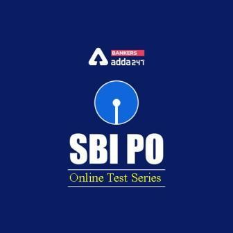 Adda247 SBI PO Prime 2020 Online Test Series