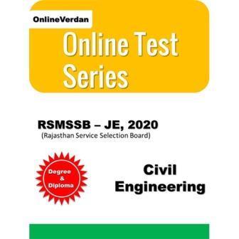 RSMSSB JE | Civil Engineering Online Test Series