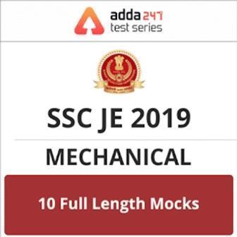 Adda247 |SSC JE |Mechanical Online Test Series
