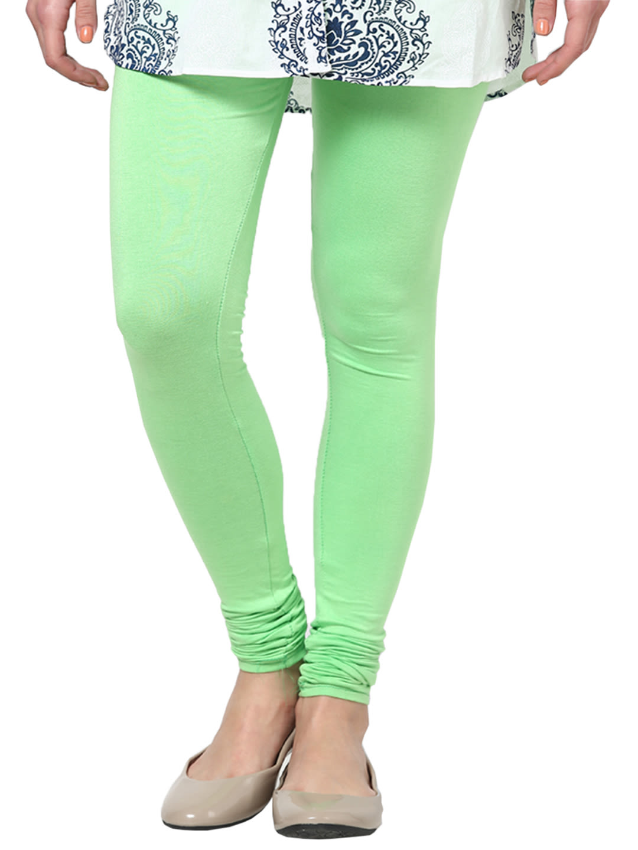 a3a95c18389d2 Castle Parrot Green Viscose Legging - Leggings