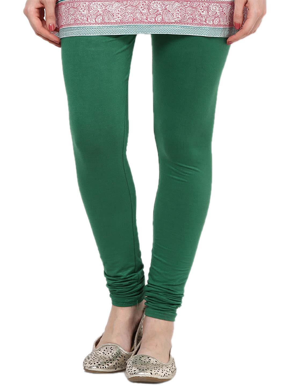 e4a7f84a8b348 Castle Pakistani Green Viscose Legging - Leggings
