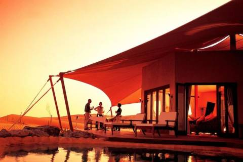 Last minute stedentrip Dubai - Al Maha Desert Resort