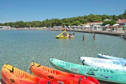 Goedkope familievakantie Noord Dalmatië - Zaton Holiday Resort
