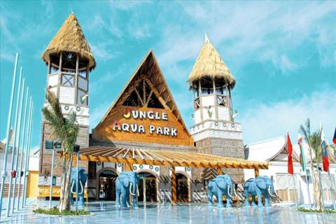 All inclusive herfstvakantie Rode Zeekust - Jungle Aqua Park