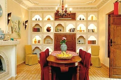 Goedkope kerstvakantie Marokkaanse Binnenland - Riad Alida