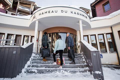 Wintersport Franse Alpen Le Hameau Du Kashmir Vertrek 17 April 2021