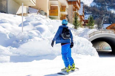 Goedkope wintersport Franse Alpen - Les Chalets Valoria