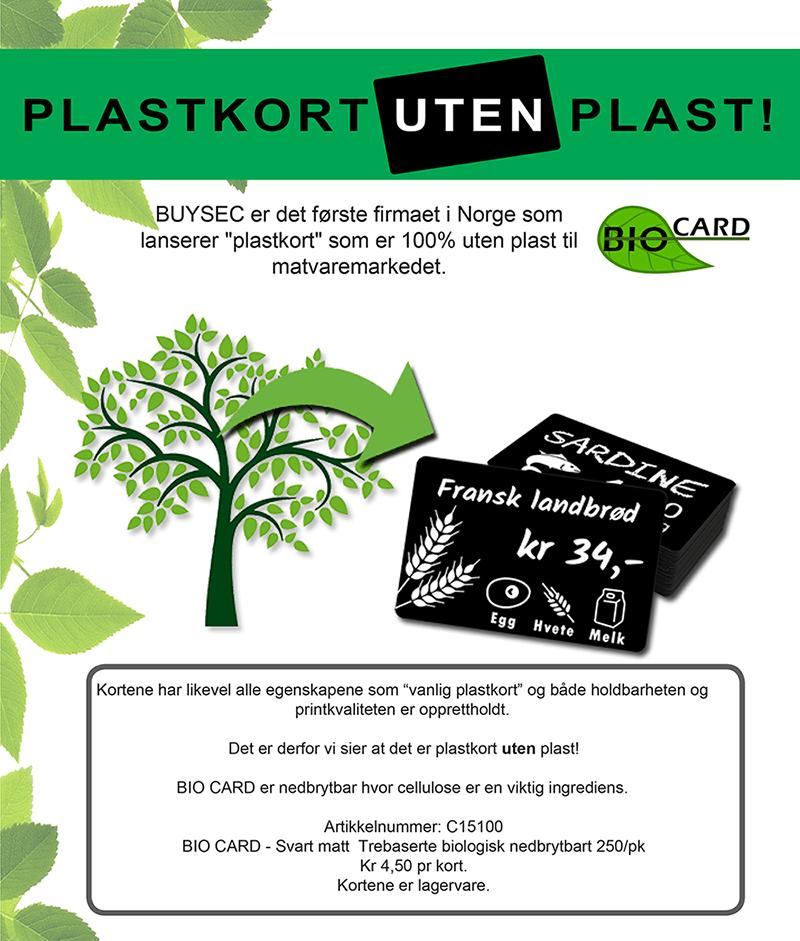 Plastkort UTEN Plast