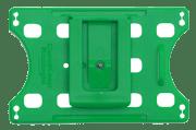Kortholder - Cardkeep Ecologic m/montert plastklips, liggende, grønn