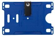 Kortholder - Cardkeep, m/metall klype, svart, liggende