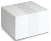 Plastkort - Hvite matte, 0,50 mm 300/pk