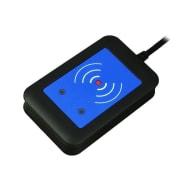 Kortleser - Elatec TWN4 MultiTech RFID reader/writer Svart, USB Desktop - Standard versjon
