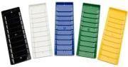 Veggholder - Cardkeep for 10 plastkort, Cardrack, H10, hvit