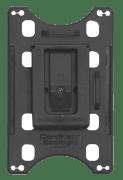 Kortholder - Cardkeep Ecologic m/montert plastklips, stående, svart