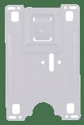 Kortholder - CardKeep Original - Montert vertikal plastklip, Frostet