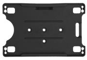 Kortholder - Cardkeep Excellent, svart, Stående/liggende